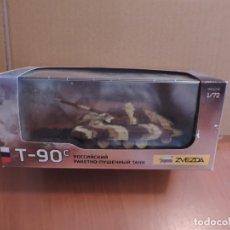 Maquetas: MAQUETA - ZVEZDA 2500 T-90 1/72 (PINTADA Y MONTADA). Lote 180159103
