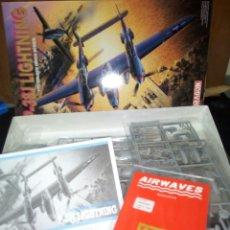 Maquetas: DRAGON 1/72 P-38J LIGHTNING. Lote 180169726