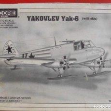 Maquetas: YAKOVLEV YAK-6. ENCORE MODELS ESCALA 1/72. MODELO NUEVO. Lote 180171725