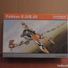 Maquetas: MAQUETA - EDUARD 8156 FOKKER E.III PROFIPACK EDITION 1/48. Lote 180173536