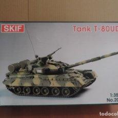 Maquetas: MAQUETA - SKIF 201 TANK T-80UD 1/35. Lote 180174416