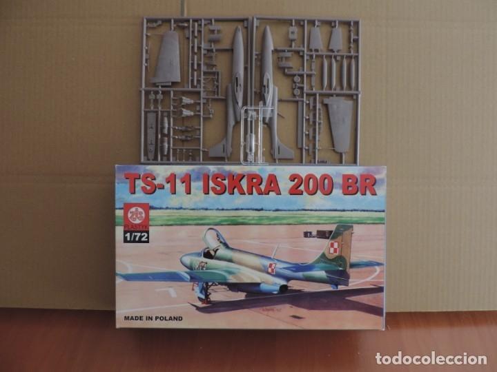 MAQUETA - ZTS PLASTYK S017 TS-11 ISKRA 200 BR 1/72 (Juguetes - Modelismo y Radio Control - Maquetas - Aviones y Helicópteros)