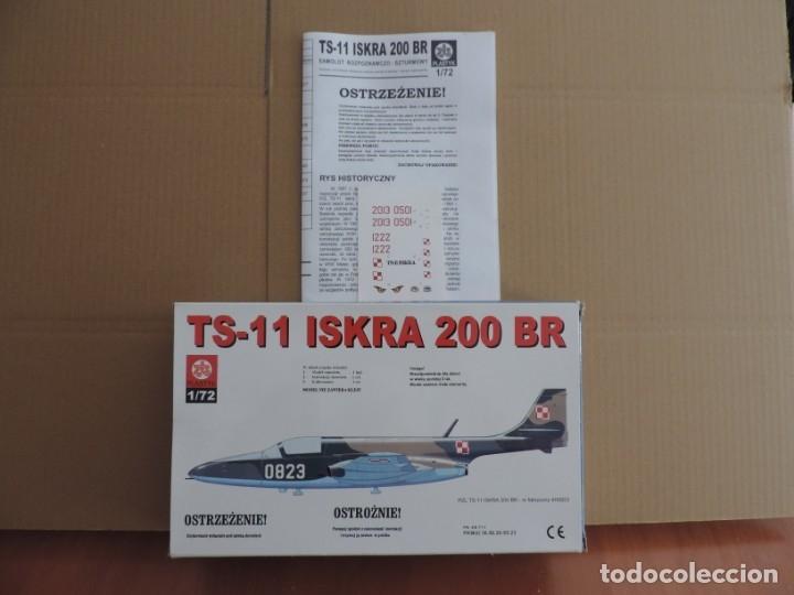Maquetas: Maqueta - ZTS Plastyk S017 TS-11 Iskra 200 BR 1/72 - Foto 2 - 180245056