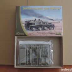 Maquetas: MAQUETA - PARC MODELS 3502 CAÑON AUTOPROPULSADO SOVIETICO ASU-57 1/35. Lote 180245753