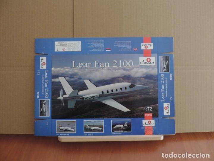 MAQUETA - AMODEL 72310 LEAR FAN 2100 1/72 (Juguetes - Modelismo y Radio Control - Maquetas - Aviones y Helicópteros)