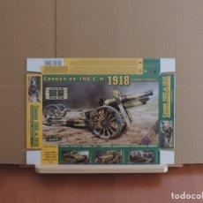 Maquetas: MAQUETA - ACE 72544 US 155MM OBUS MODELO DE 1918 (RUEDAS DE MADERA) 1/72. Lote 180246307