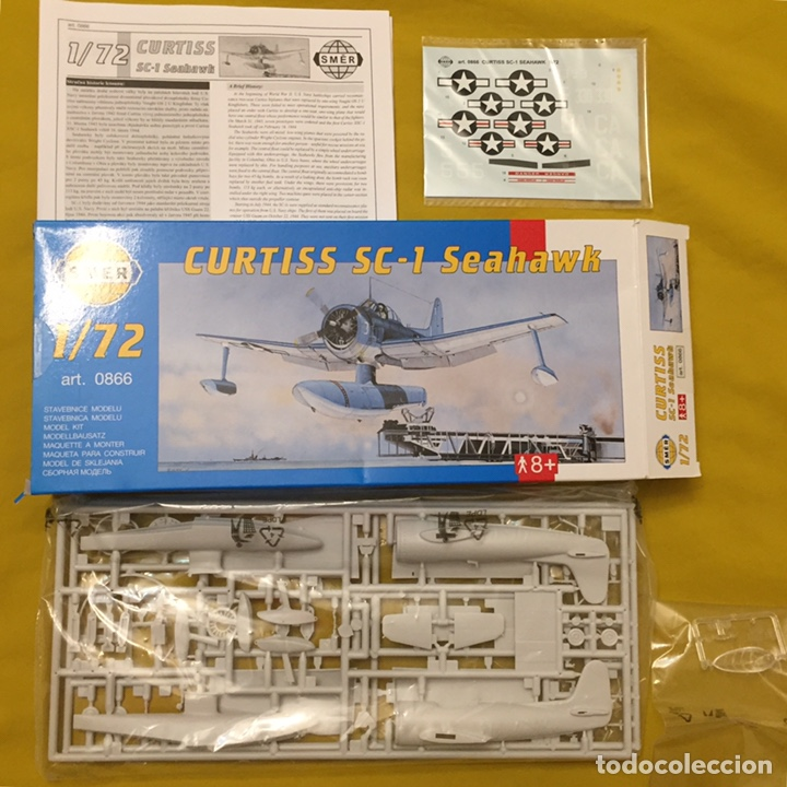 Maquetas: CURTISS SC-1 Seahawk 1:72 SMER 0866 maqueta avión hidroavion - Foto 2 - 180262490