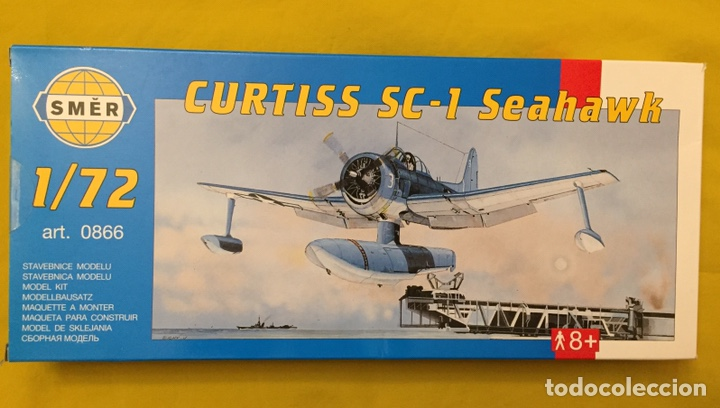 CURTISS SC-1 SEAHAWK 1:72 SMER 0866 MAQUETA AVIÓN HIDROAVION (Juguetes - Modelismo y Radio Control - Maquetas - Aviones y Helicópteros)