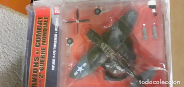 REPUBLIC P-47 D RAZORBACK. CAZAS SEGUNDA GUERRA MUNDIAL 1/72 (Juguetes - Modelismo y Radio Control - Maquetas - Aviones y Helicópteros)