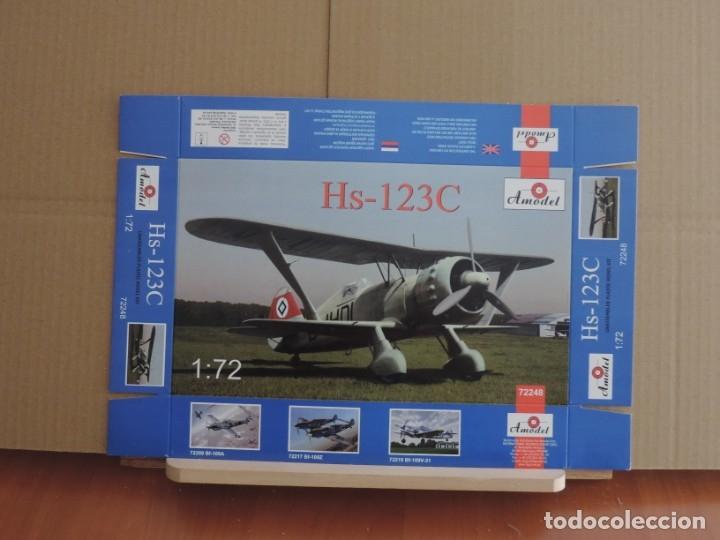 MAQUETA - AMODEL 72248 HENSCHEL HS 123C 1/72 (Juguetes - Modelismo y Radio Control - Maquetas - Aviones y Helicópteros)