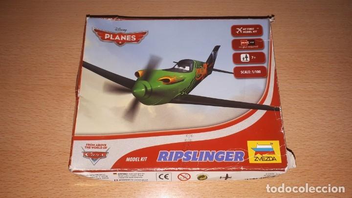 MAQUETA AVION RIPSLINGER DISNEY CARS ESCALA 1/100 (Juguetes - Modelismo y Radio Control - Maquetas - Aviones y Helicópteros)