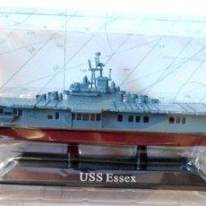 Maquetas: PORTAAVIONES USS ESSEX, ARMADA ESTADOUNIDENSE, 1942, 1:1250. Lote 180473906
