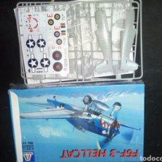 Maquetas: ITALERI 1/72 F6F-3 HELLCAT. Lote 180922987
