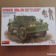 Maquetas: MAQUETA - MINIART 35077 DAIMLER DINGO MK.III BLINDADO BRITANICO CON TRIPULACION 1/35. Lote 180934787