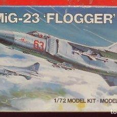 Maquetas: MIG-23 FLOGGER. AIRFIX ESCALA 1/72. MODELO NUEVO. Lote 181100095