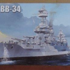 Maquetas: MAQUETA - TRUMPETER 05339 ACORAZADO USS NEW YORK BB-34 1/350. Lote 181182660
