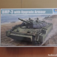 Maquetas: MAQUETA - TRUMPETER 00365 RUSSIAN BMP-3 WITH UPGRADE ARMOUR 1/35. Lote 181193541