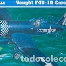 Maquetas: TRUMPETER - VOUGHT F4U-1D 1/32 02221. Lote 181534478