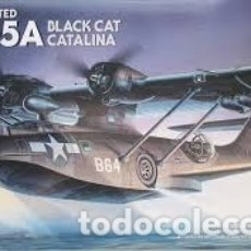 Maquettes: ACADEMY - PBY-5A BLACK CAT CATALINA 1/72 2137. Lote 181579802
