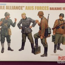 Maquettes: FRAGILE ALLIANCE AXIS FORCES BALKANS 1943 1:35 DRAGÓN 6563 MAQUETA FIGURAS CARRO DIORAMA TANQUE. Lote 181588810