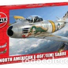 Maquetas: AIRFIX - NORTH AMERICAN F-86F/E SABRE 1/72 03082. Lote 181625282