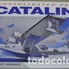 Maquetas: AIRFIX - CONSOLIDATED PBY-5A CATALINA 1/72 05007. Lote 181634561