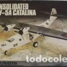 Maquetas: AIRFIX - CONSOLIDATED PBY-5A CATALINA 1/72 05007. Lote 181634601