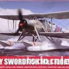 Maquetas: AIRFIX - FAIREY SWORDFISH MK.I FLOATPLANE 1/72 A05006. Lote 181635200