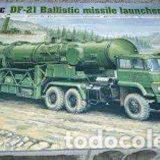 Maquetas: MAQUETA 1/35 - DF-21 BALLISTIC MISSILE LAUNCHER TRUMPETER - NO. 00202 - 1:35. Lote 181687455