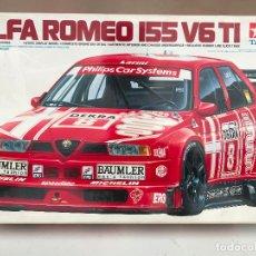 Maquetas: TAMIYA SPORTS CAR SERIES 1:24 1/24 ALFA ROMEO 155 V6 TI - NUEVO. Lote 182010071