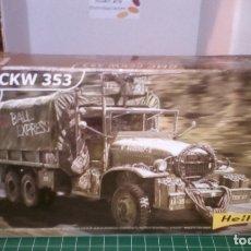 Maquetas: GMC CCKW 353 1/72 HELLER. Lote 182030058