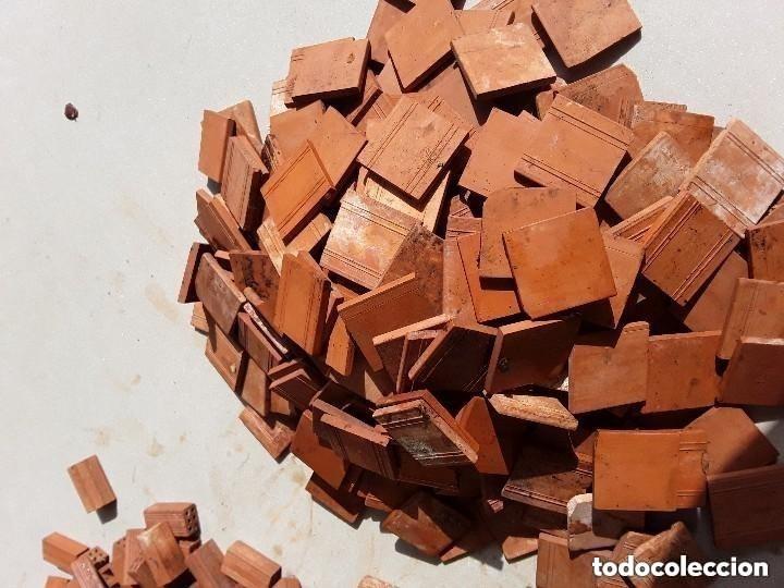 Maquetas: Miniaturas ladrillos 370 tejas para construccion - Foto 2 - 182084638