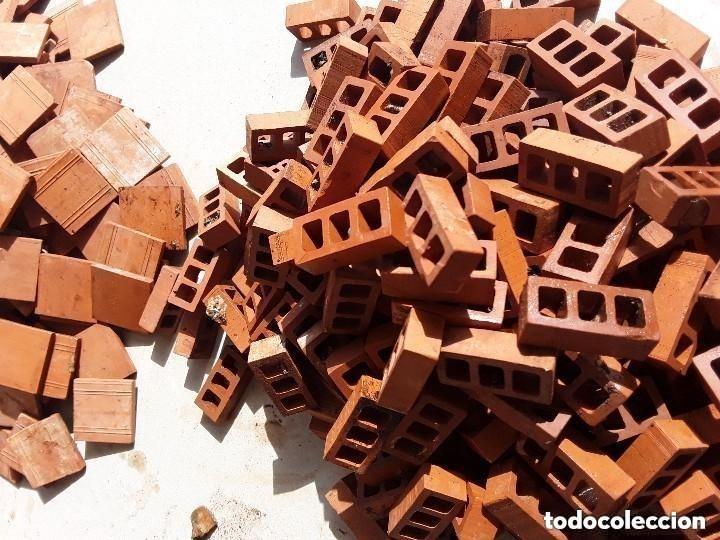 Maquetas: Miniaturas ladrillos 370 tejas para construccion - Foto 3 - 182084638