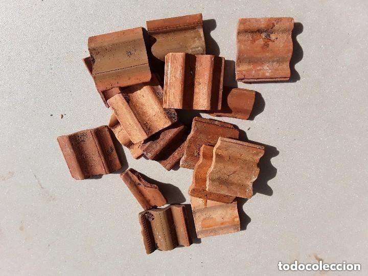 Maquetas: Miniaturas ladrillos 370 tejas para construccion - Foto 4 - 182084638