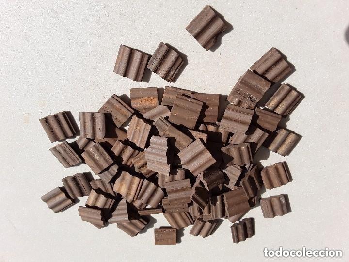 Maquetas: Miniaturas ladrillos 370 tejas para construccion - Foto 5 - 182084638