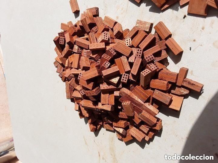 Maquetas: Miniaturas ladrillos 370 tejas para construccion - Foto 9 - 182084638
