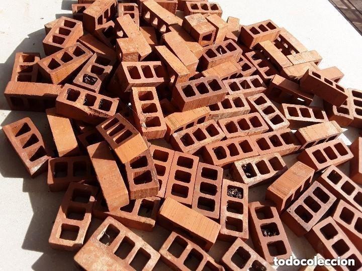 Maquetas: Miniaturas ladrillos 370 tejas para construccion - Foto 11 - 182084638