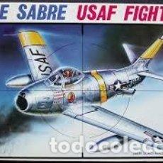Maquetas: ESCI - F86E SABRE USAF FIGHTER 1/48 4039. Lote 182232515