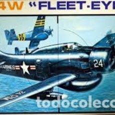 Maquetas: ESCI - AD-4W FLEET EYE 1/48 4046. Lote 210937880