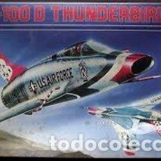 Maquetas: ESCI - F-100D THUNDERBIRDS 1/72 9024. Lote 182236717