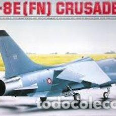 Maquetas: ESCI - F-8E FN CRUSADER 1/72 9075. Lote 182236745