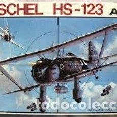 Maquetas: ESCI - HENSCHEL HS.123A-1 1/48 4001. Lote 182236822