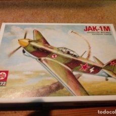 Maquetas: MAQUETA DE AVION JAK-1M ESCALA 1/72. Lote 182271187