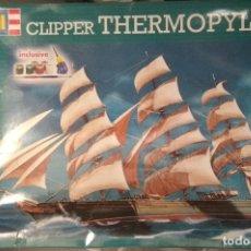 Maquetas: BARCO VELERO CLIPPER THERMOPHILAE PLASTICO. Lote 182286032