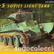 Maquetas: ITALERI - BT-5 SOVIET LIGHT TANK 1/35 272. Lote 182333228
