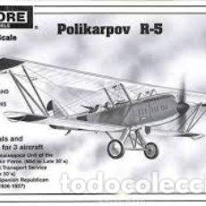 Maquetas: ENCORE - POLIKARPOV R-5 1/72 1016. Lote 182393808