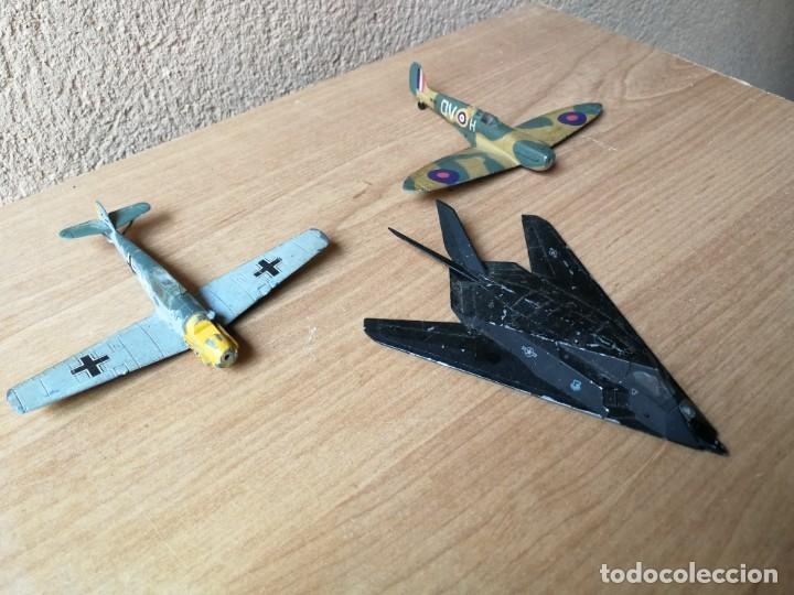 AVIONES METÁLICO AVION FANTASMA F-117 CAZA STUKA SPITFIRE (Juguetes - Modelismo y Radio Control - Maquetas - Aviones y Helicópteros)