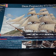 Maquetas: DOM FERNANDO II E GLORIA -FRAGATA PORTUGUESA-REVELL-1/200-. Lote 182492547