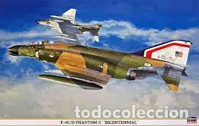 HASEGAWA - F-4C/D PHANTOM II 1/48 09790 (Juguetes - Modelismo y Radio Control - Maquetas - Aviones y Helicópteros)