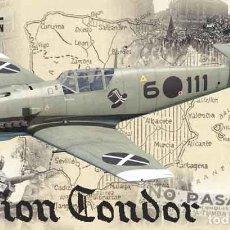 Maquetas: MAQUETA DEL CAZA MESSERSCHMITT BF 109E-1/E-3 DE LA LEGION CONDOR DE EDUARD A 1/32 (ED. LIMITADA). Lote 182522126
